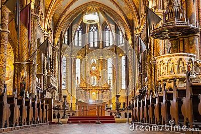 matthias kirche in budapest die hauptstadt von redaktionelles foto bild 58204071. Black Bedroom Furniture Sets. Home Design Ideas