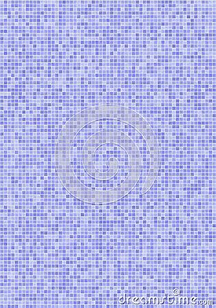 Mattonelle di mosaico viola blu fotografia stock libera da - Mosaico blu bagno ...