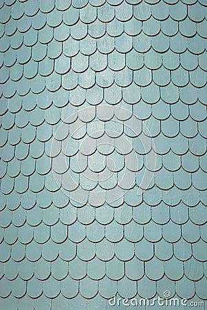 Mattonelle di tetto dell assicella