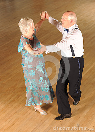 Mature Ballroom Dancers