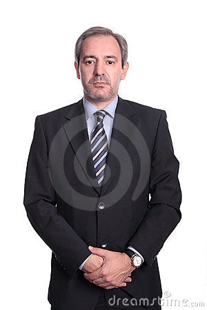 Mature business man portrait