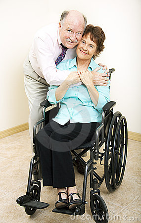 Mature Couple - Disability