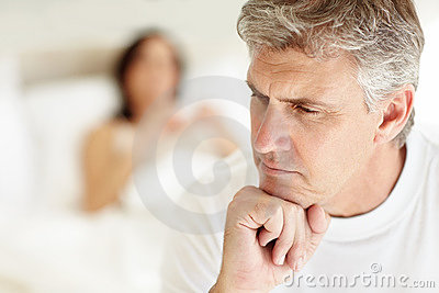 Mature couple having sexual problem