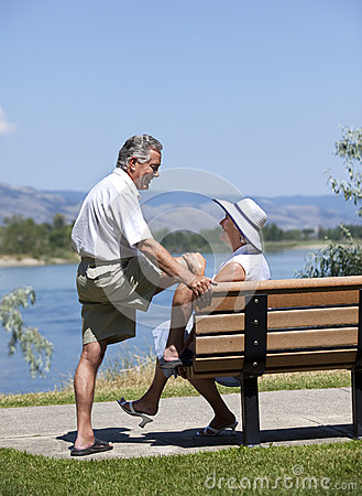 Mature Couple Outdoors