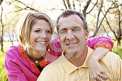 Mature Couple portrait