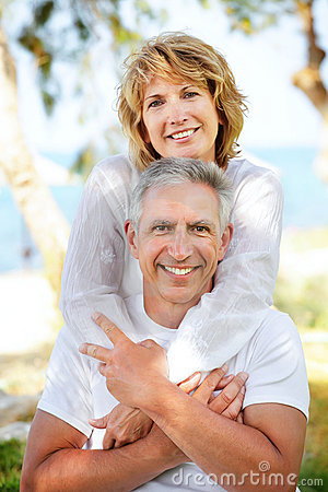 Free Mature Couple Smiling Royalty Free Stock Images - 14542379
