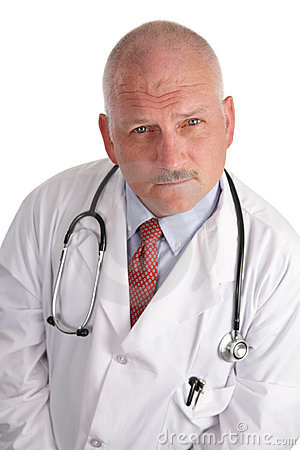 Mature Doctor - Serious