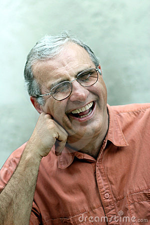 Free Mature Man Laughing Stock Image - 168661
