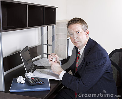 Mature Man not happy working on Personal Income Taxes
