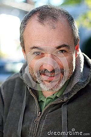 Free Mature Man Smiling Stock Photos - 237323
