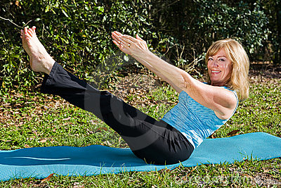 Mature Woman - Core Strength