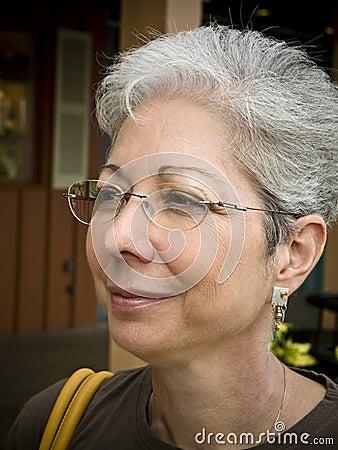 MAture woman in glasses 27