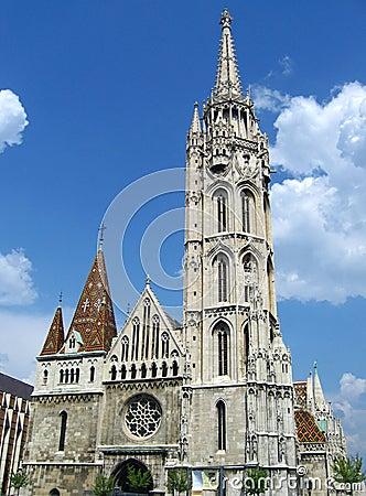 Free Matyas Church - Budapest, Hungary Stock Photos - 1078063