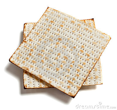 Free Matza Bread On White Royalty Free Stock Image - 11945556
