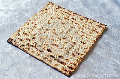 Matza for Jewish Holiday Passover