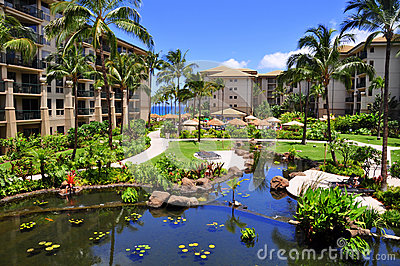Maui beach resort