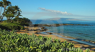 Maui South Shore Beach