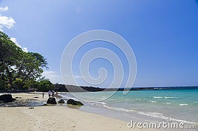 Mauna Kea beach, Big Island, Hawaii