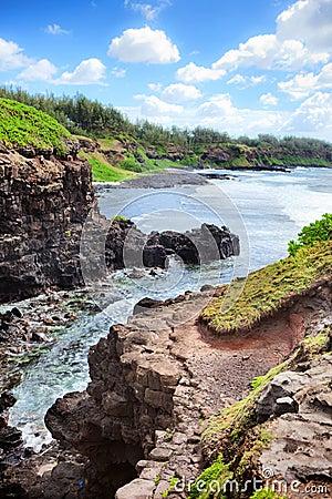 Free Mauritius Island Ocean Landscape Royalty Free Stock Photos - 37555128