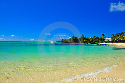 Mauritius shoreline