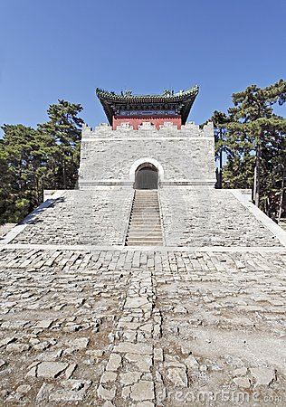 Mausoleo real chino.