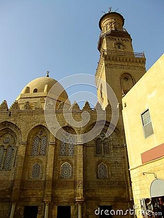 Mausoleo y mezquita, complejo de Qalawun, El Cairo de Madrasah