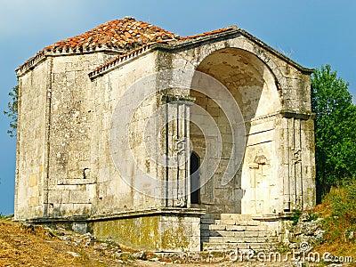 Mausoleum.