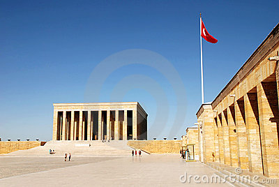 Mausoleum Of Ataturk Stock Photos - Image: 22298893