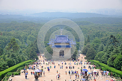 Mausoleum of Dr. Sun Yat-sen Editorial Stock Image