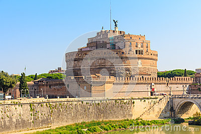 The Mausoleum of Hadrian, Castel Sant Angelo, Rome