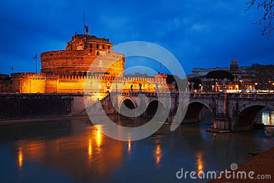 Mausoleum of Hadrian, Rome, Italy