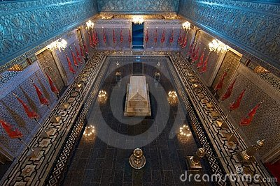 Mausoleum of King Mohammed V of Morocco Editorial Photo