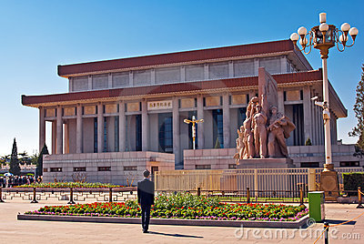 Mausoleum of Mao Zedong. Editorial Photography