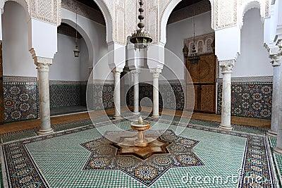 Mausoleum in Meknes, Morocco