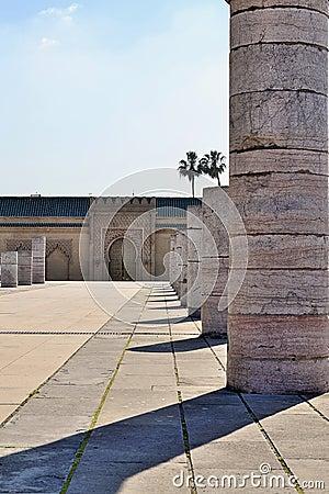 Mausoleum Mohamed 5 Rabat morocco