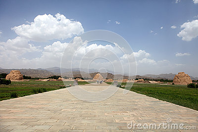 Mausoleum of xixia dynasty