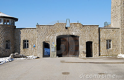 Mauthausen Editorial Stock Image