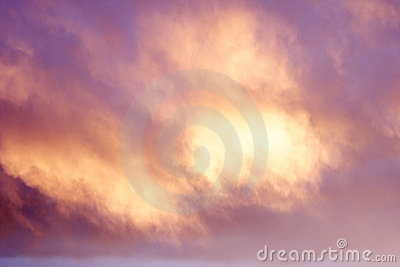 Mauve Cloud Background