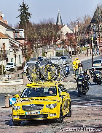 Mavic Yellow Car Editorial Image