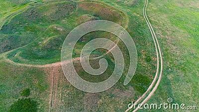 Mavrinsky majdan Ukraina antena zdjęcie wideo