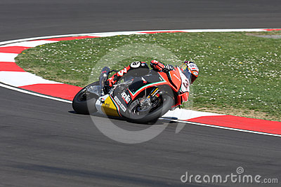 Max Biaggi Aprilia RSV4 Aprilia Racing Team Editorial Stock Image