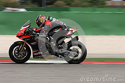 Max Biaggi Aprilia RSV4 Aprilia Racing Team Editorial Photo