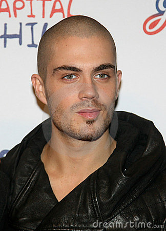 Max George, The Wanted Editorial Image