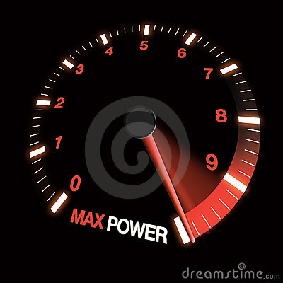 Max power speed dial
