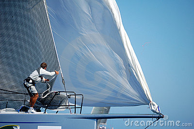 Maxi Yacht Rolex Cup Editorial Stock Photo