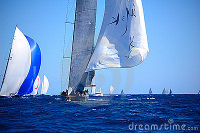 Maxi Yacht Rolex Cup Editorial Photography