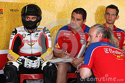 Maxime Berger Ducati 1098R Effenbert Liberty Editorial Stock Photo