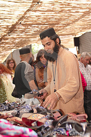 May 23:  Muslim Festival May 23, 2011 in mertola Editorial Stock Photo