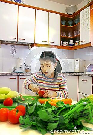 Mały gotować