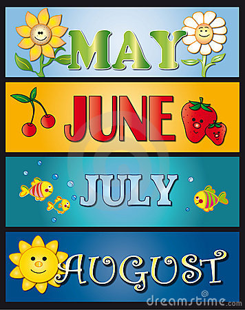 Free May June July August Stock Photos - 11180703